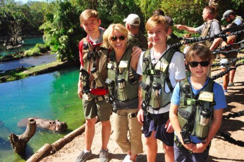 WILD AFRICA TREK DISNEY WORLD - LUXURY DISNEY luxury travel mom
