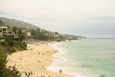 The beach at The Ranch at Laguna Beach