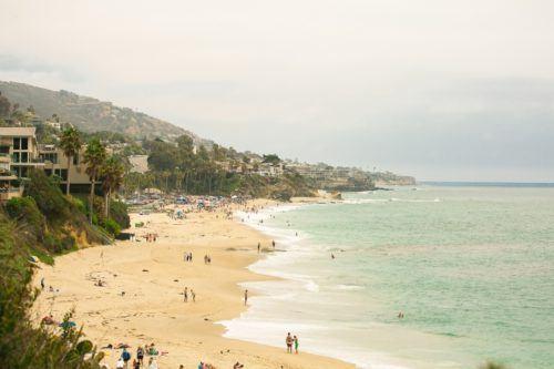 The beach at The Ranch at Laguna Beach