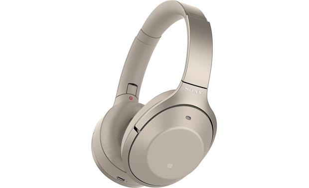 best noise cancelling headphones travel Sony gold luxury travel mom