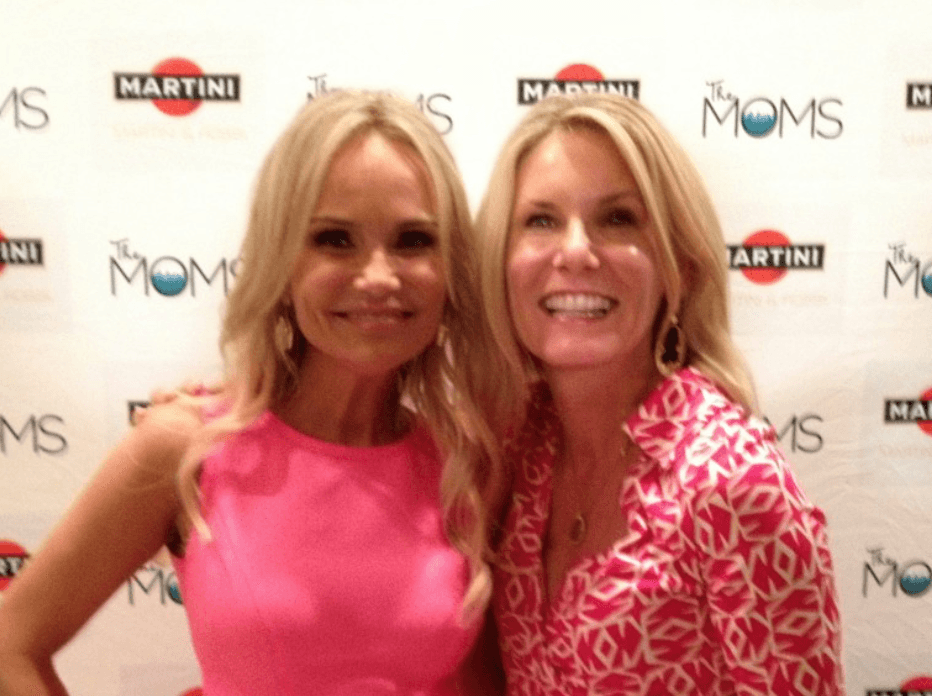 Meeting Kristin Chenoweth and Toasting Breast Cancer Survivors