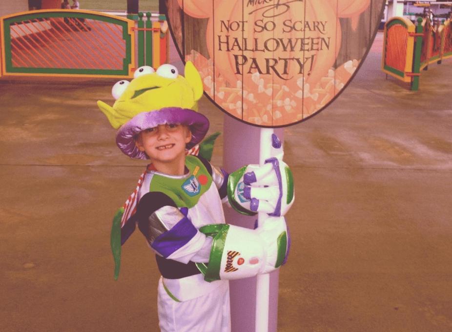 Mickey's Not-So-Scary Halloween Party in DisneyWorld
