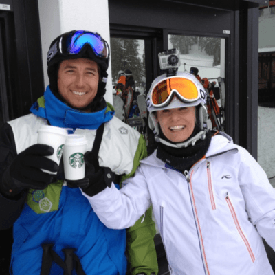 Skiing with Jonny Moseley at Squaw Valley