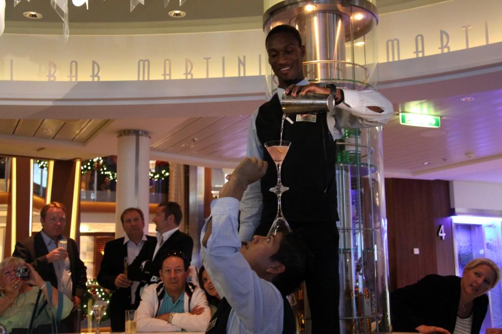 Celebrity Reflection Luxury Cruise Ship Martini Bar