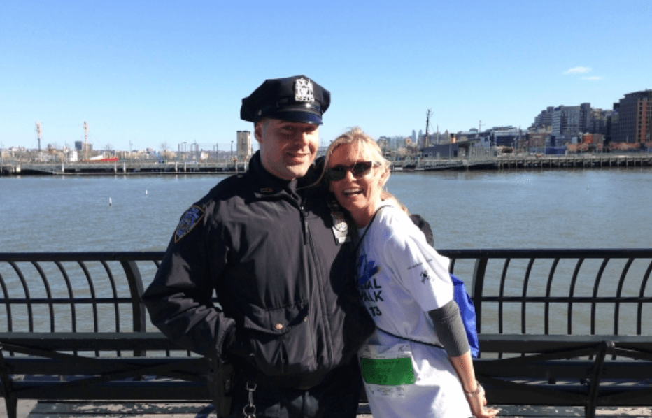 New York 9:11 Memorial Run - NYPD Takes First Place