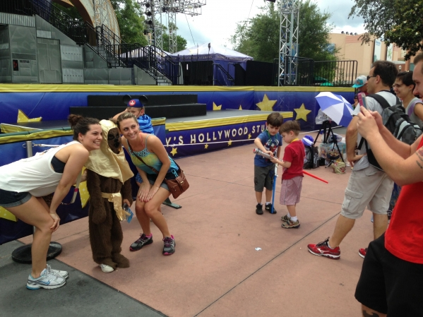 Park guests asked to take their picture WITH Keaton. He wants Disney to know he is for hire.