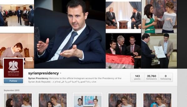 Syria Instagram