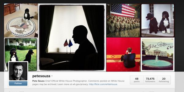 Pete Souza White House Instagram