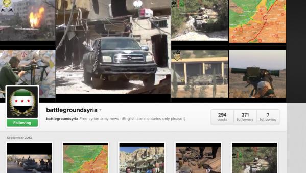 Free Syrian Army Instagram
