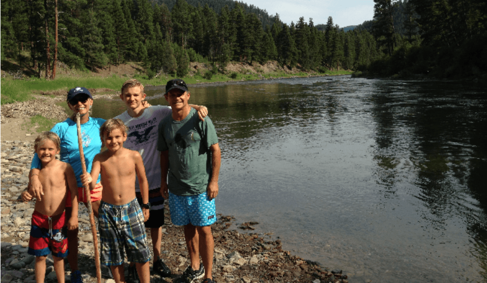 Activities on the Blackfoot River at The Resort at Paws Up
