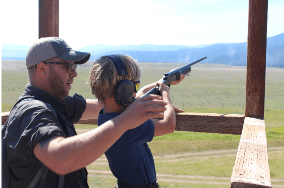 Shooting Sporting Clays in Montana at The Resort at Paws Up