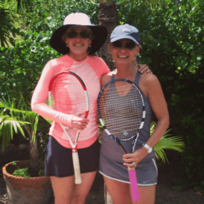 Tennis Camps for Adults - Join Me and Tracy Austin at Curtain Bluff in April