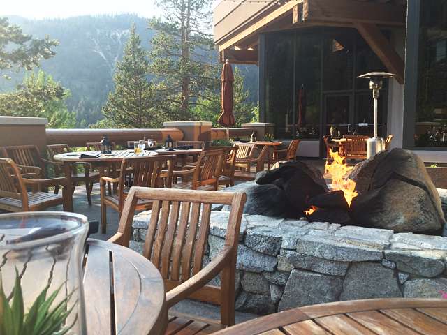 dining at squaw creek resort lake tahoe resorts