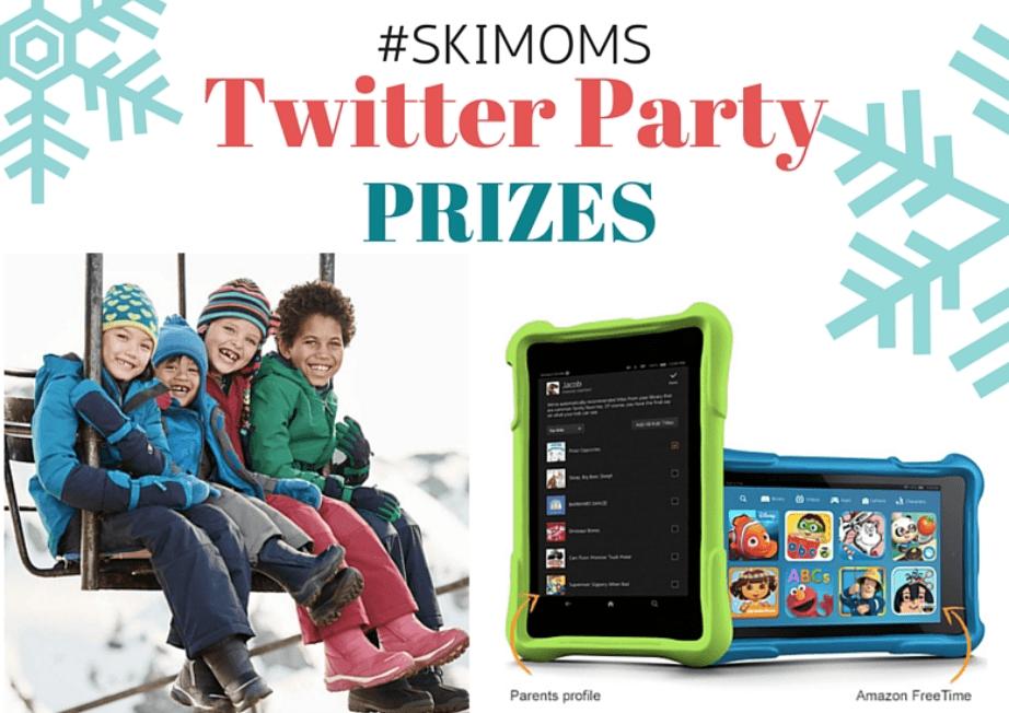 Ski With Kids #SkiMoms Twitter Party