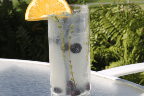 Country Thyme Boozy Lemonade - Cocktail Recipe