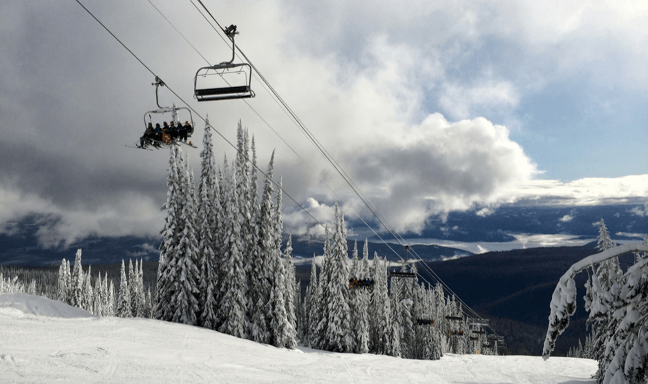 SilverStar Ski Resort Champagne Powder and Bluebird Day Dreams