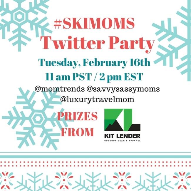 SkiMoms Twitter Party Image- Feb 16th