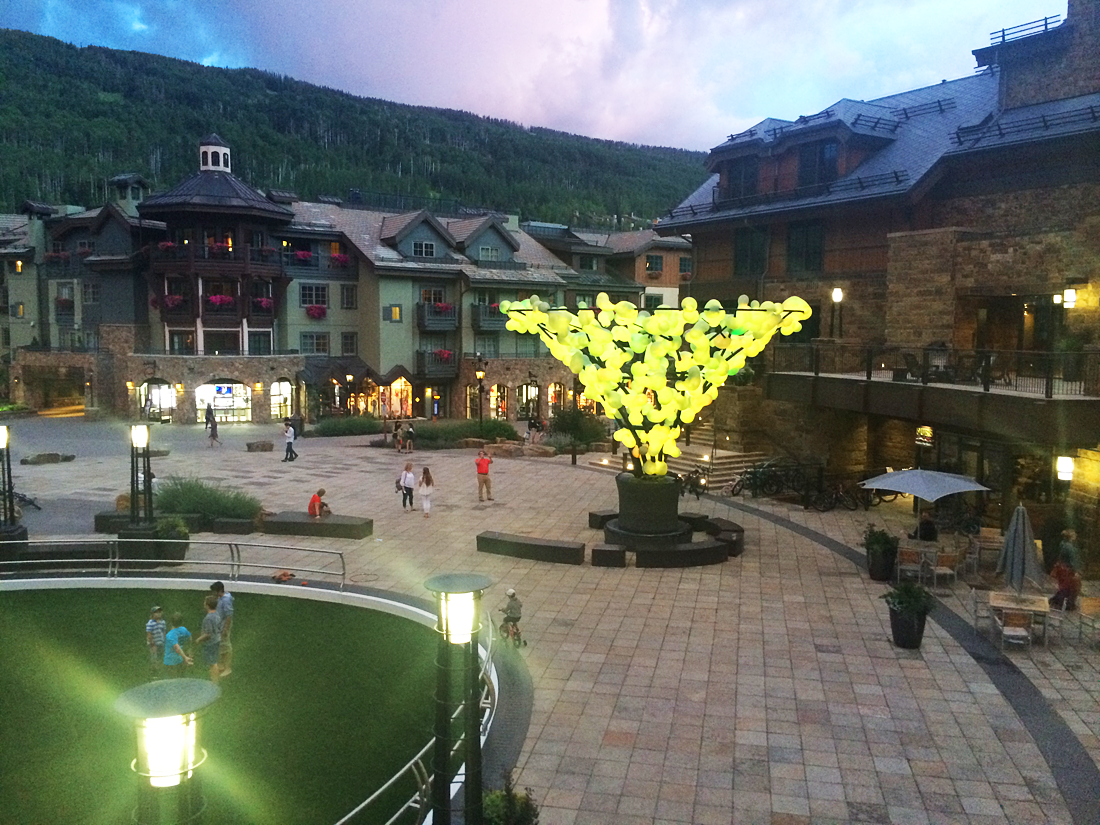 vail mountain summer nights