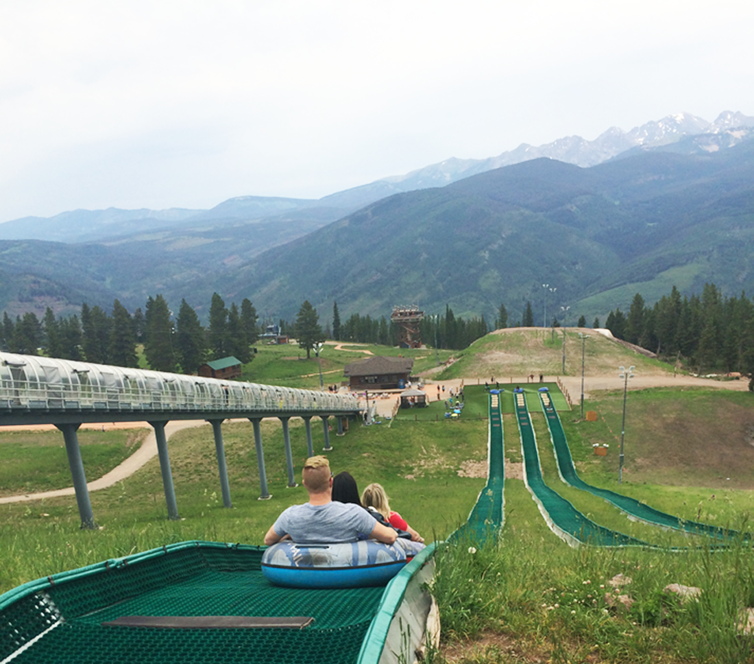 vail mountain summer tubing