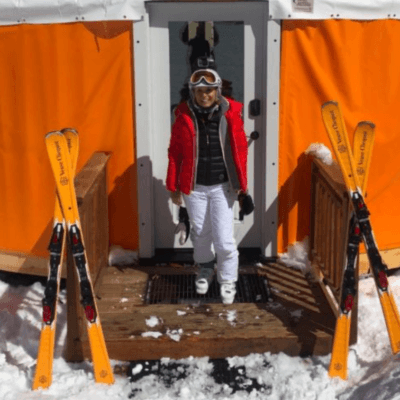 Deer Valley - Veuve Clicquot Yurt luxury travel mom