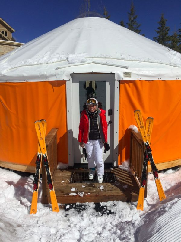 veuve clicquot yurt
