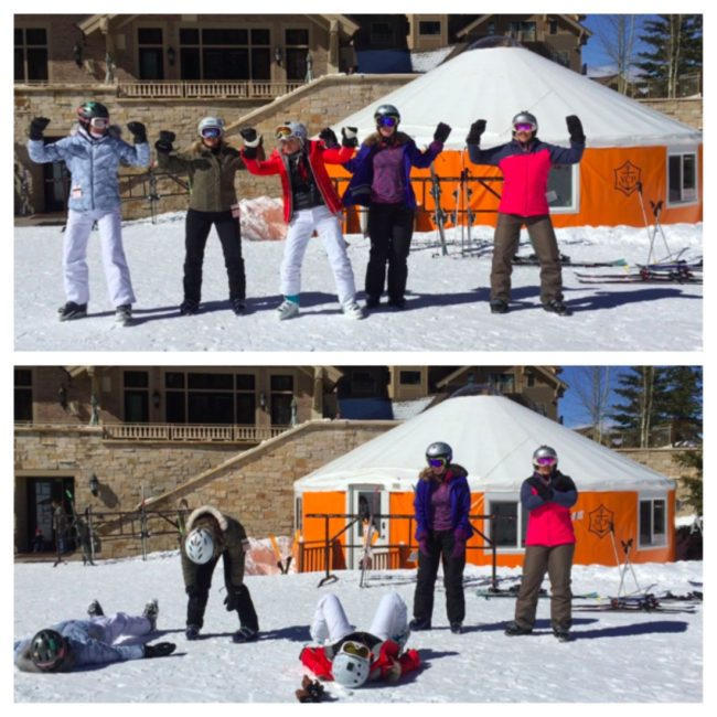 deer valley veuve clicquot yurt