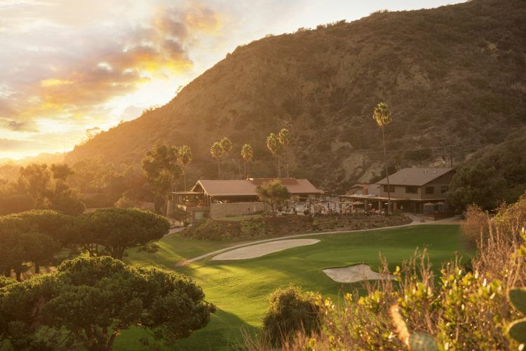 The Ranch at Laguna Beach is across from the Pacific Ocean and tucked into two different canyon walls