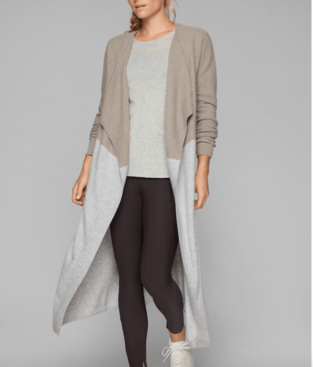 athlete cashmere duster