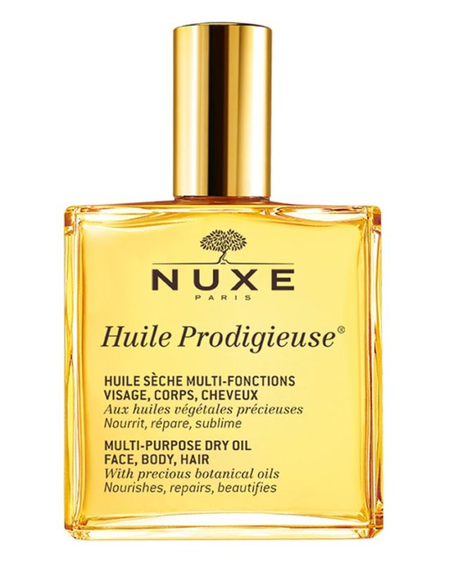 NUXE Dry Oil from France for hair, face and body