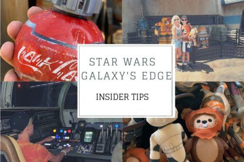 Disneyland Galaxy's Edge VIP