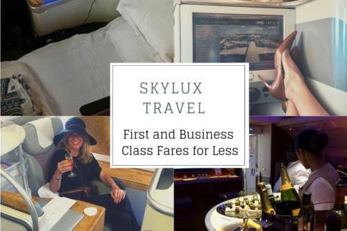 Discount first class airfare